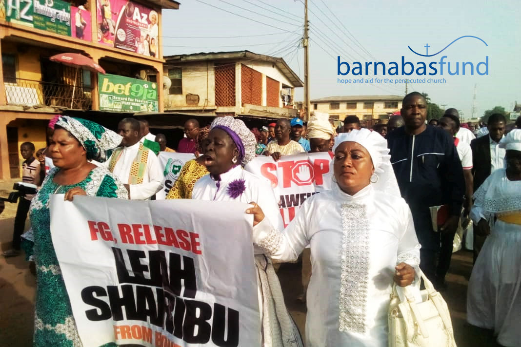 March in Nigeria