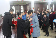 Christians in Wuhan