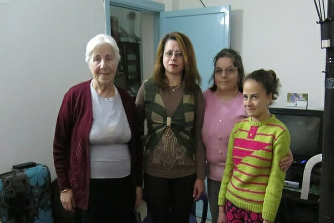 Members of a Syrian Christian family
