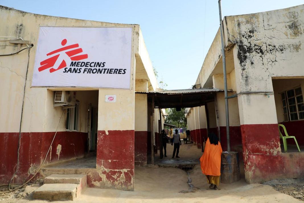 Médecins Sans Frontières Building in rural area