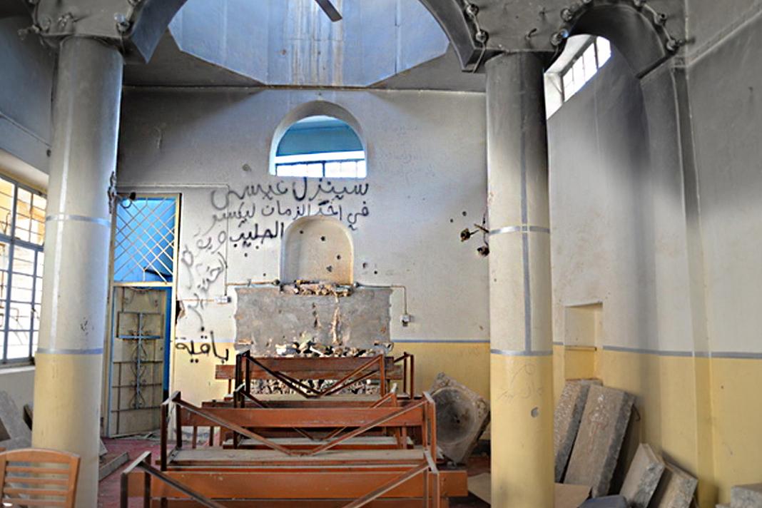 St. Kyriakos Church, under renovation