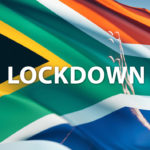 South African Flag with Praying hands lockdown prayer