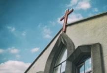Church with Cross
