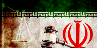 Iranian Flag and gavel, Change Of Law Puts Iranian Christians At Greater Risk Of Repression And Punishment