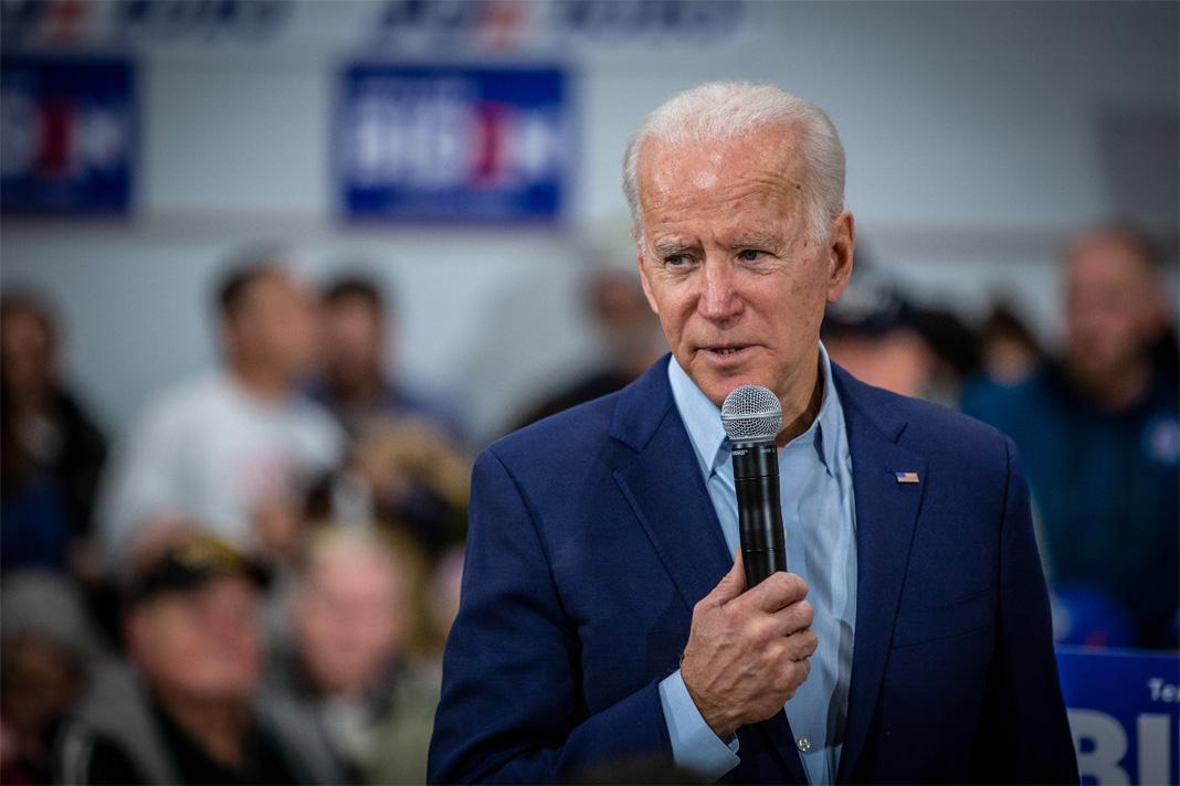 Joe Biden at McKinley Elementary School