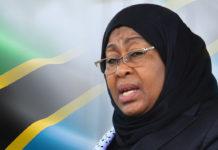 Newly appointed Tanzanian President Samia Suluhu Hassan