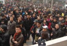 Jasmine Revolution in China - Beijing