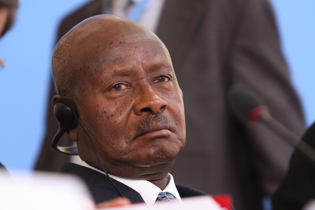 President Yoweri Museveni in 2013. Photo by the U.K.'s Foreign, Commonwealth & Development Office.