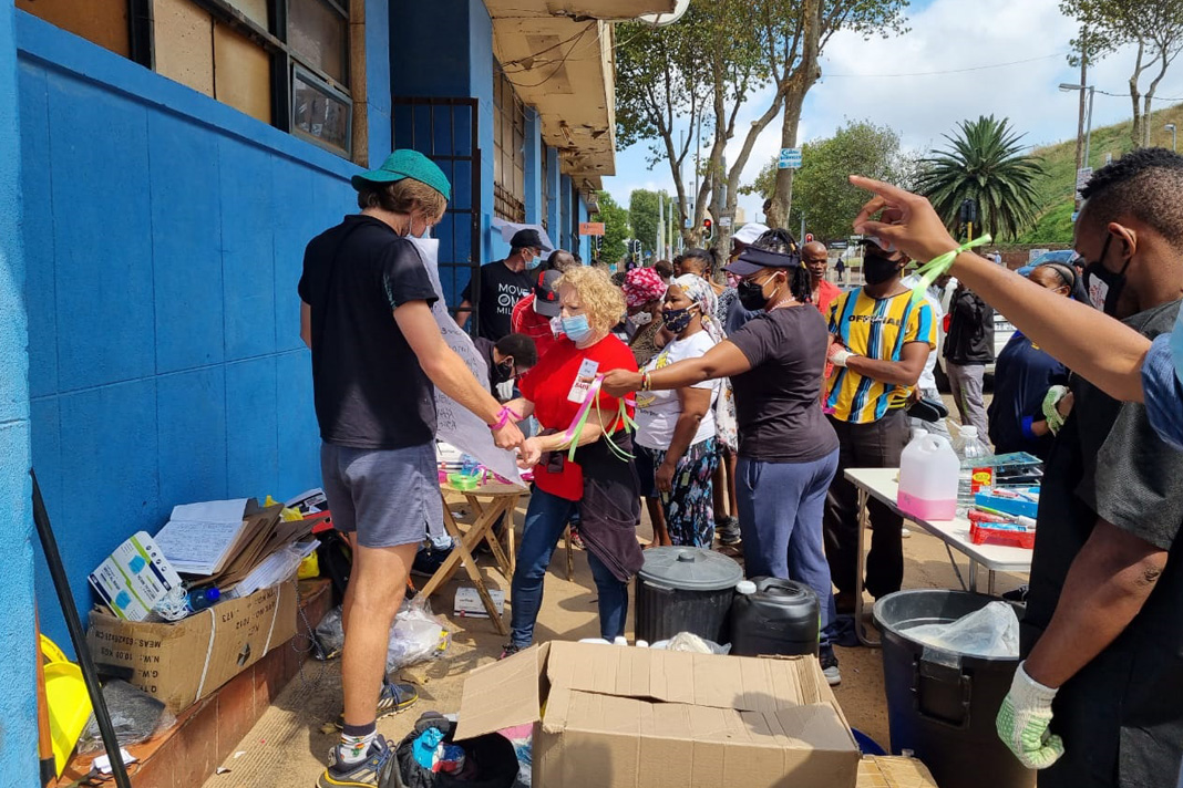 The People SA at Malaika Orgphanage