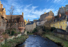 Dean Village, Edinburgh,Scotland. / Photo: Imran Perwez, Unsplash, CC0