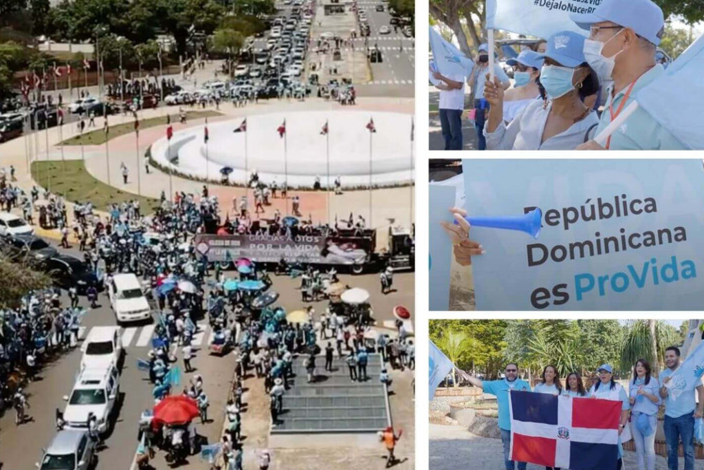 Thousands Participate In Dominican Republic Car Caravan To