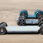 REE's electric vehicle platforms. (REE Automotive)