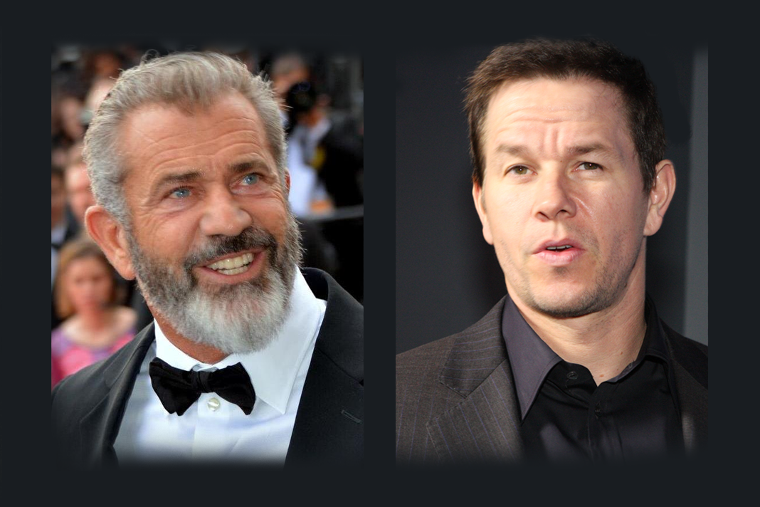 Mel Gibson and Mark Wahlberg