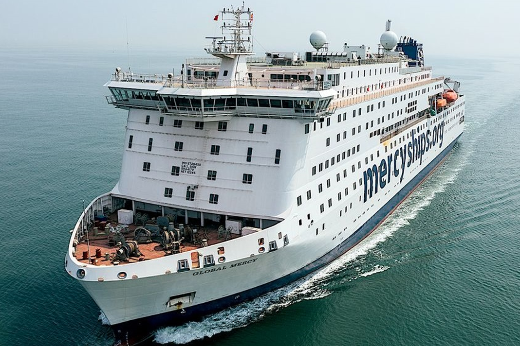 Global Mercy is Mercy Ships' newly built medical vessel which will be operational in Africa next year. / Photo: Mercy Ships.