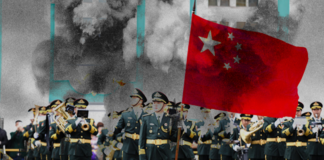 Chinese military and Bomb