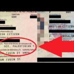 Ayelet Balaban's old and new British passports. (courtesy)