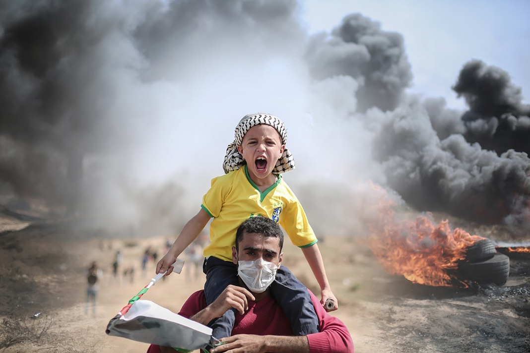 Child at Gaza Strip Palestine
