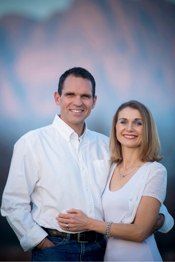 Johan Jacobs and Wife