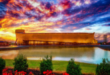 Noah's Ark at the Ark Encounter theme park in Williamstown