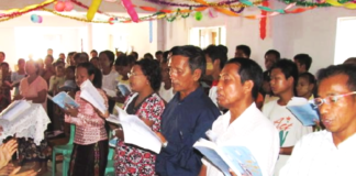 Since the military coup in February, Christians have led prayers for a peaceful resolution to the conflict in Myanmar