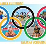 Olympic surfing silver medallist Bianca Buitendag and Olympic swimming Champion Tatjana Schoenmaker