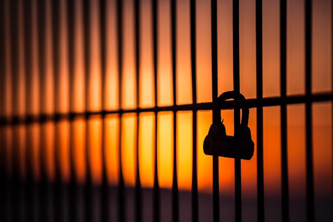 Lock on bars