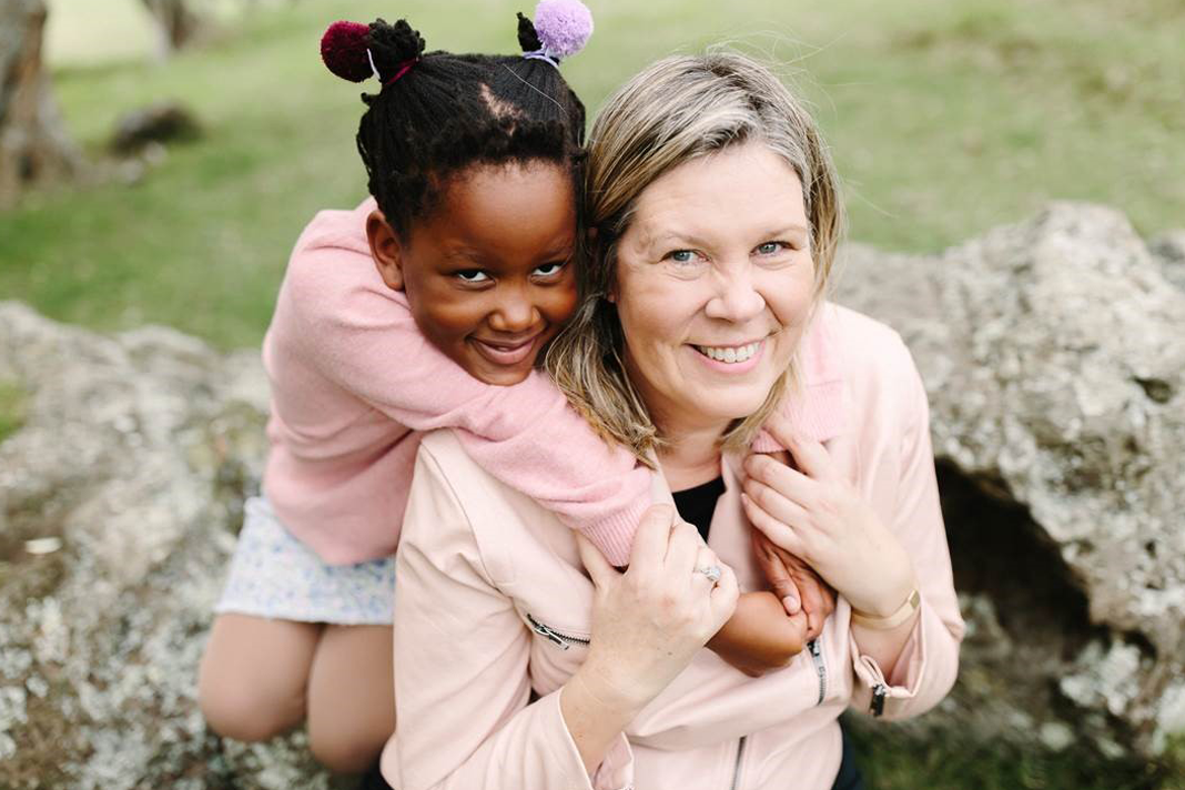 Lynette Leibach, new executive director of Open Doors Southern Africa, and her daughter, Kyra.