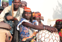 Nigeria people with instruments