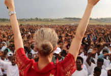 Outreach in Africa with Tamryn Klintworth