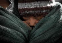 Child in blanket